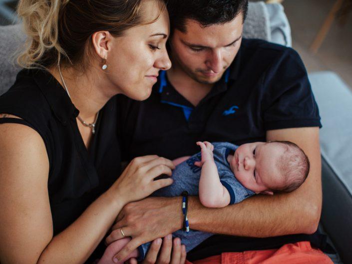Reportage Nouveau-né à domicile