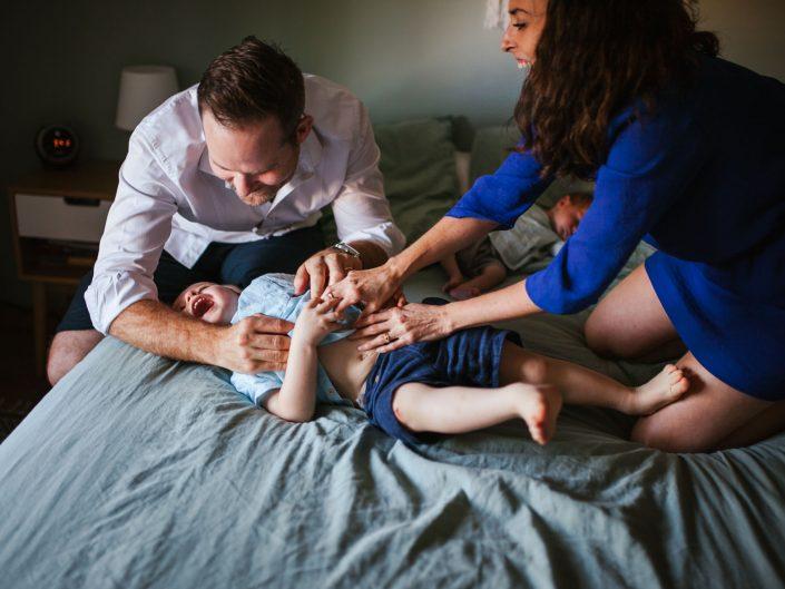 reportage photo Famille nouveau né