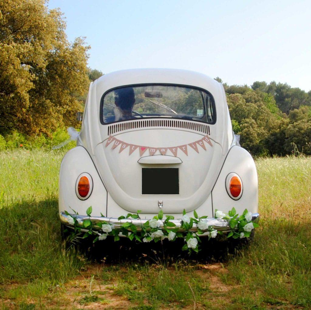 VOLKSWAGEN COCCINELLE - location voiture en provence- mariage- photographe
